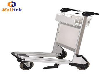 Stainless Steel Airport Luggage Trolley Airport Passenger Baggage Trolleys
