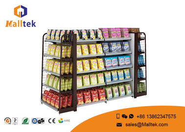 Advertising Stand Retail Store Fixtures And Shelving Electrastic Spray Surface